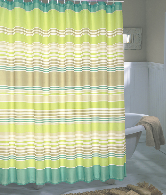 Brighton Extra Wide Fabric Shower Curtain 108 X 72 Long