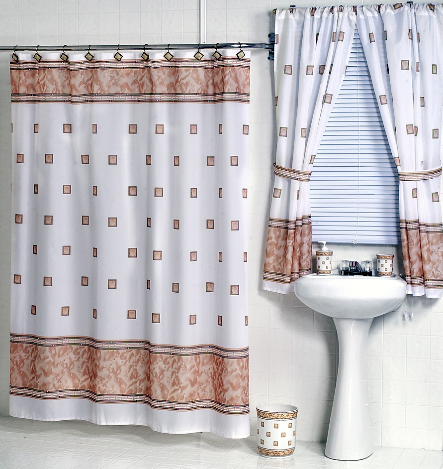 window decorating curtain treatment bathroom with best white country showers shower design interior ideas curtains charming treatments valance and matching majestic interesting