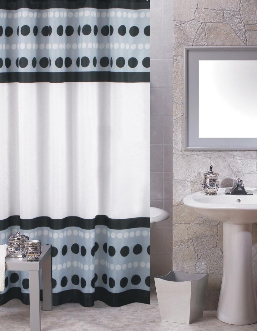 Carnation Home Fashions, Inc - Fabric Shower Curtains