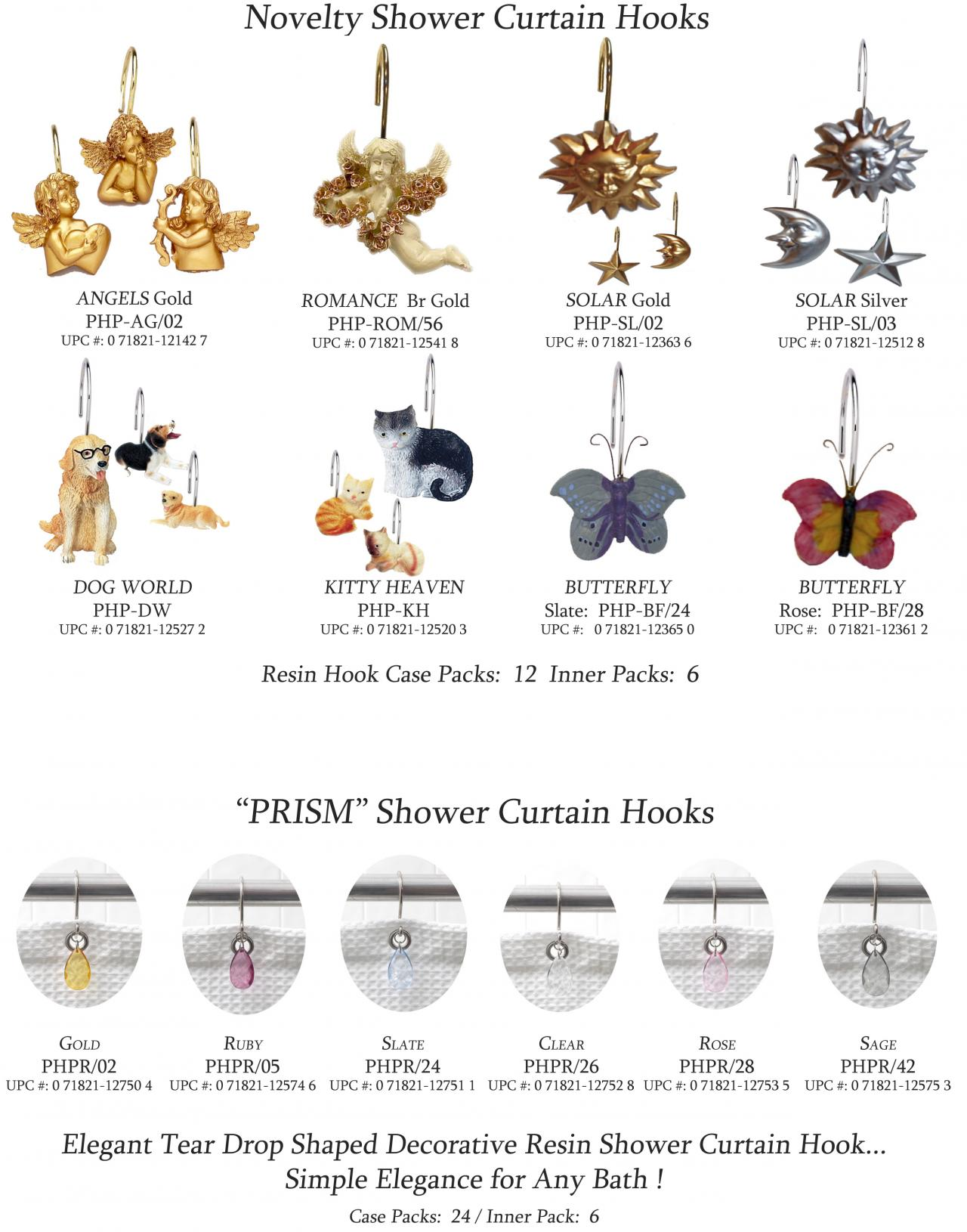 Resin Shower Curtain Hooks Page 10