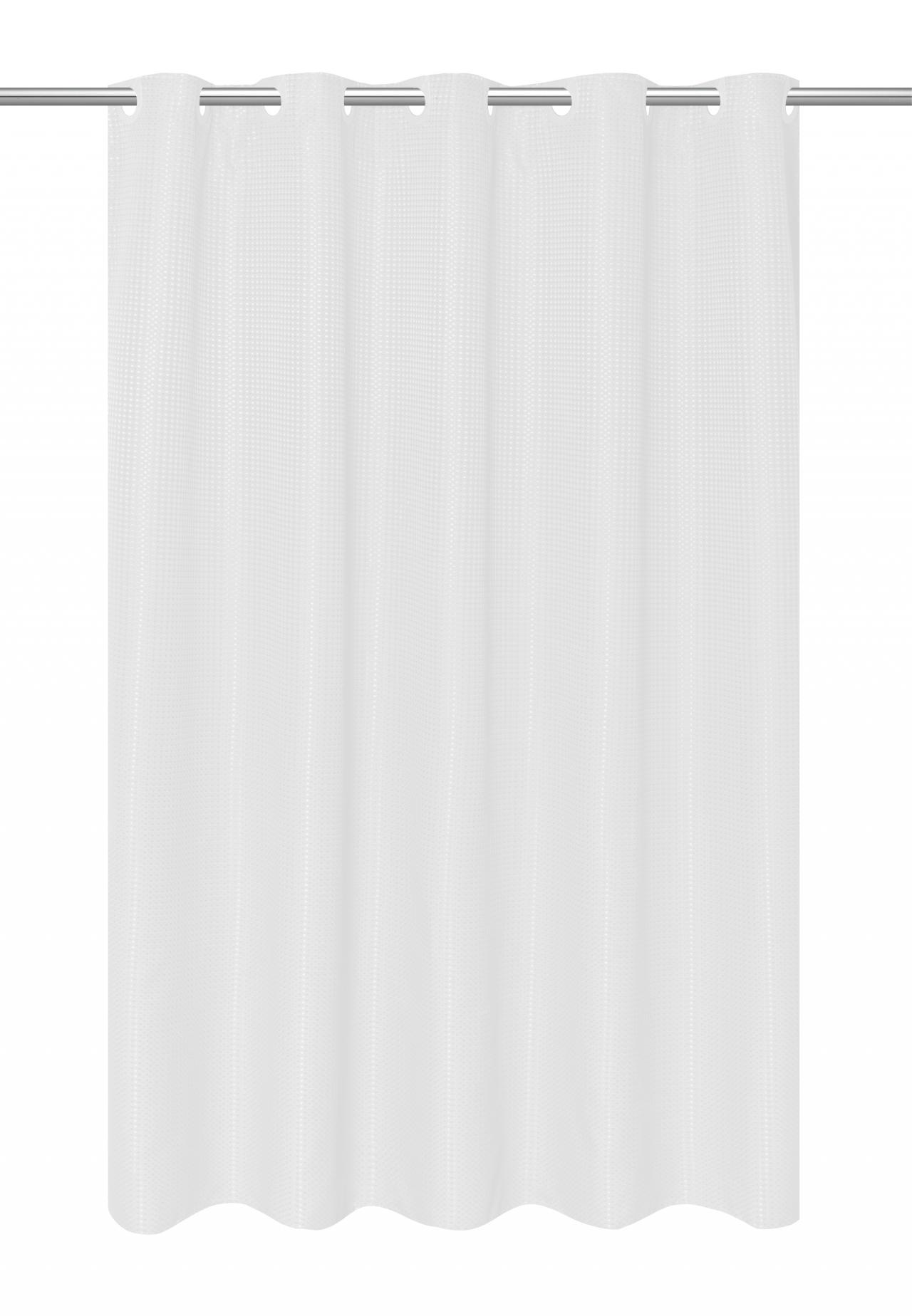 waffle shower prod wave weave qlt home spin essential hei fabric p white curtain curtains wid
