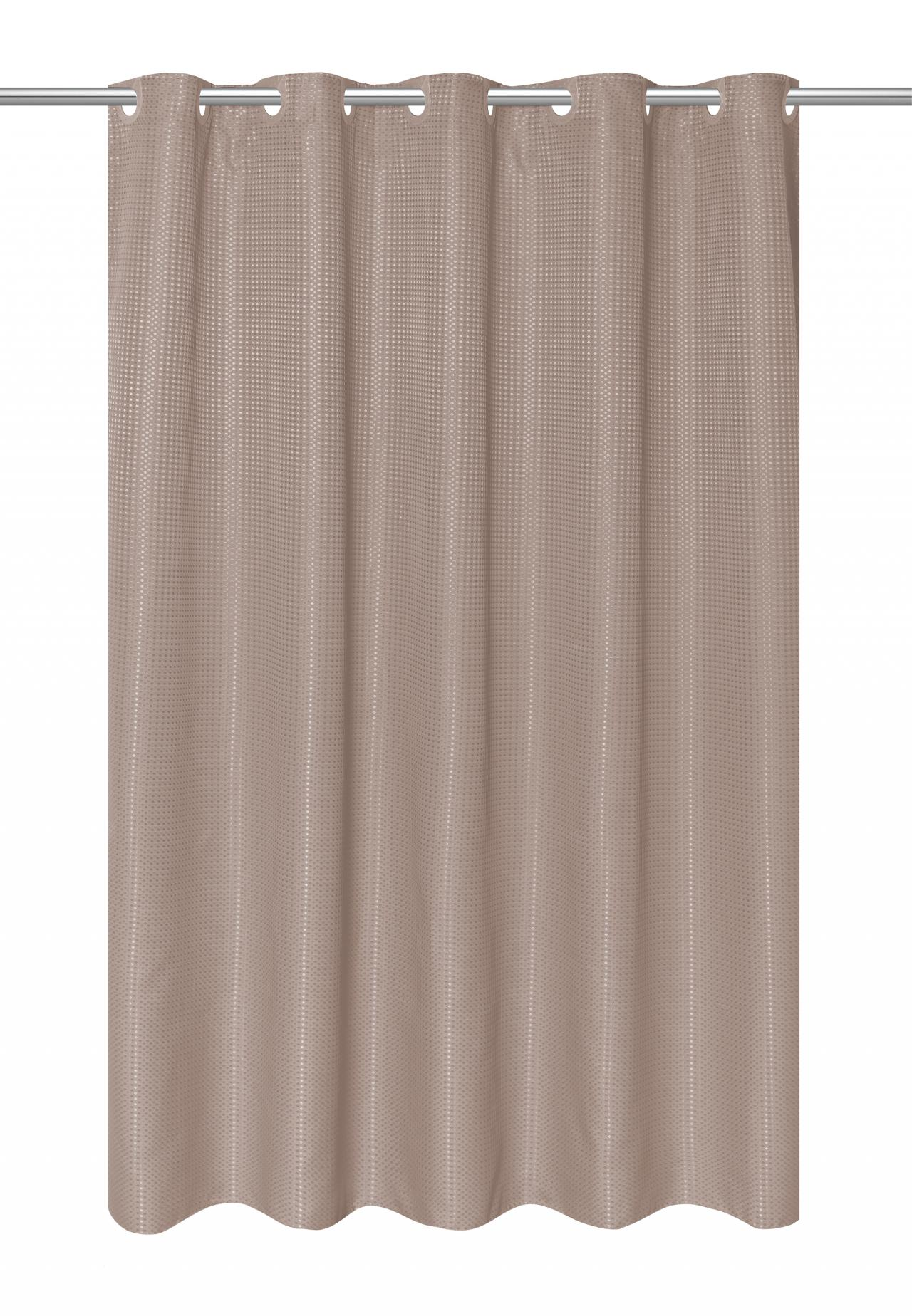 Carnation Home Fashions, Inc - EZ On Waffle Weave Shower Curtains