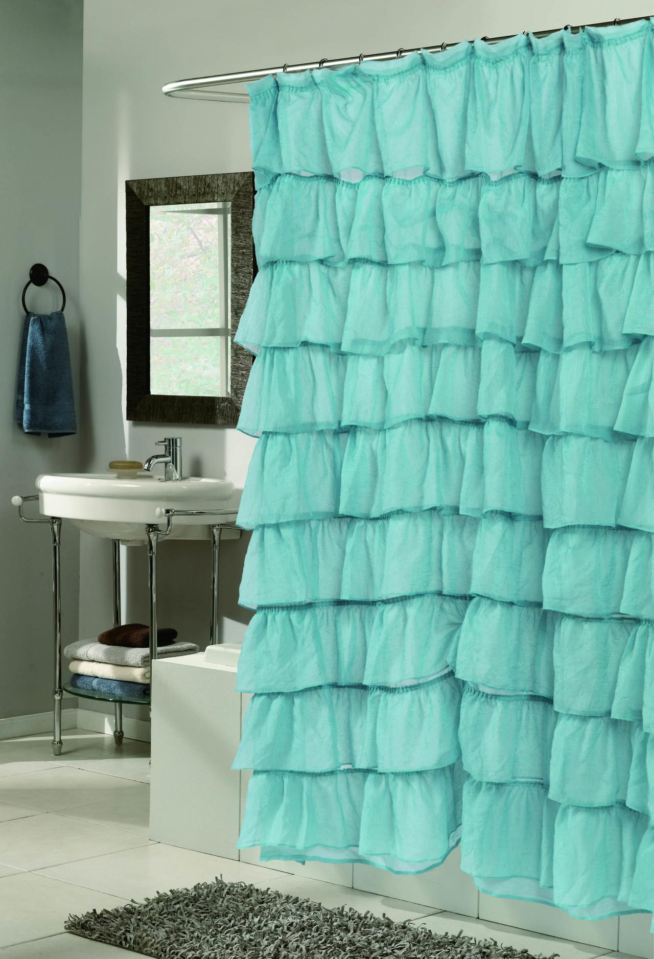 Blue bathroom curtains - Royal Blue Shower Curtains And Bathroom Sets Cynthia Rowley Shower Curtain Blue Black And Blue