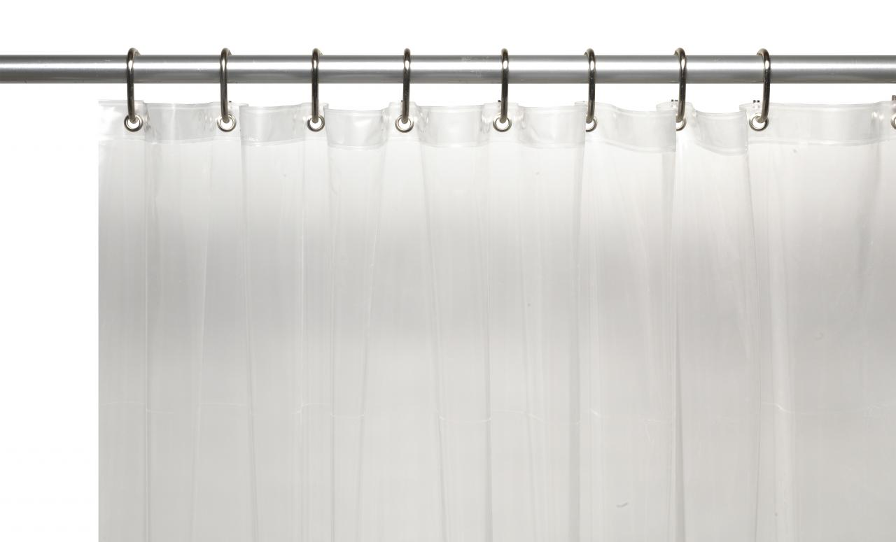 Carnation Home Fashions, Inc - 10 Gauge Vinyl Shower Curtain Liners